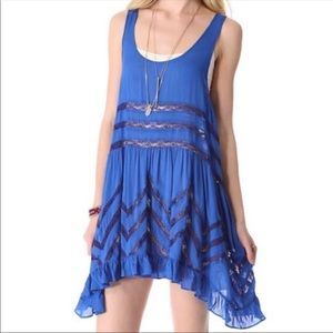 Intimately Free People Voile Trapeze Slip Dress